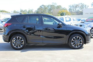 2016 Mazda CX-5 KE1022 Akera SKYACTIV-Drive i-ACTIV AWD Jet Black 6 Speed Sports Automatic Wagon.
