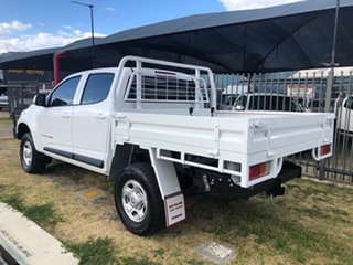 2015 Holden Colorado RG MY15 LS (4x4) White 6 Speed Automatic Crew Cab Chassis