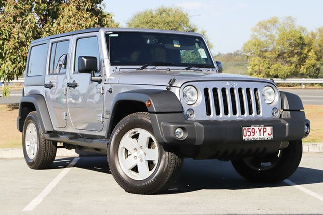 Used Jeep Wrangler JK MY18 Unlimited Sport, 2018 Jeep Wrangler JK MY18 Unlimited Sport Silver 5 Speed Automatic Softtop