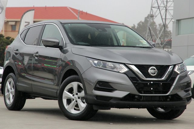 New Nissan Qashqai MY20 ST+ Castle Hill, 2021 Nissan Qashqai MY20 ST+ Gun Metallic Continuous Variable Wagon