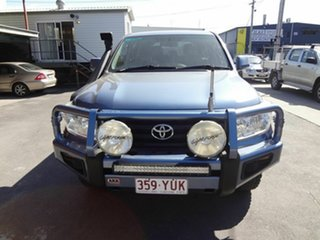 2011 Toyota Landcruiser VDJ200R 09 Upgrade GXL (4x4) Blue 6 Speed Automatic Wagon