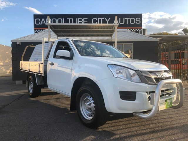 Used Isuzu D-MAX MY12 SX, 2012 Isuzu D-MAX MY12 SX White 5 Speed Manual Cab Chassis