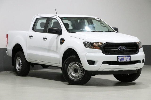 Used Ford Ranger PX MkIII MY19 XL 2.2 Hi-Rider (4x2), 2018 Ford Ranger PX MkIII MY19 XL 2.2 Hi-Rider (4x2) White 6 Speed Automatic Double Cab Pickup