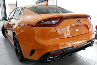 2021 Kia Stinger CK MY21 GT Fastback Neon Orange 8 Speed Sports Automatic Sedan.