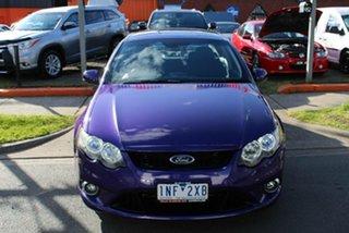 2009 Ford Falcon FG XR6 Purple 5 Speed Auto Seq Sportshift Sedan.