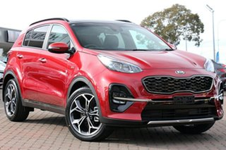 2020 Kia Sportage QL MY21 GT-Line AWD Fiery Red 6 Speed Sports Automatic Wagon.