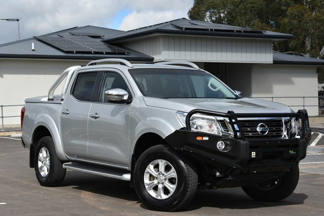 Used Nissan Navara D23 ST-X, 2015 Nissan Navara D23 ST-X Silver 7 Speed Sports Automatic Utility