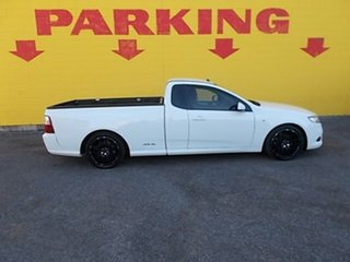 2011 Ford Falcon FG MkII XR6 Super Cab White 6 Speed Sports Automatic Cab Chassis