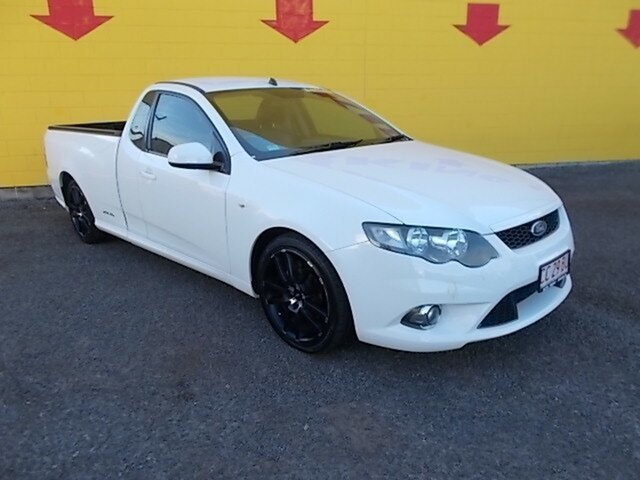 Used Ford Falcon FG MkII XR6 Super Cab, 2011 Ford Falcon FG MkII XR6 Super Cab White 6 Speed Sports Automatic Cab Chassis