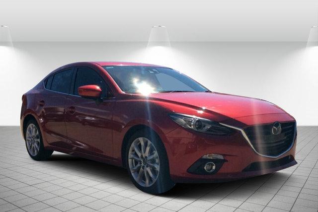 Used Mazda 3 BM5236 SP25 SKYACTIV-MT Astina, 2014 Mazda 3 BM5236 SP25 SKYACTIV-MT Astina Red 6 Speed Manual Sedan