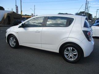 2014 Holden Barina TM MY14 CD White 6 Speed Automatic Hatchback.