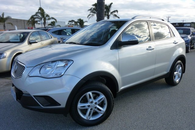 Used Ssangyong Korando C200 S 2WD, 2013 Ssangyong Korando C200 S 2WD Silver 6 Speed Automatic Wagon