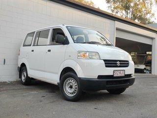 2007 Suzuki APV White 5 Speed Manual Van.
