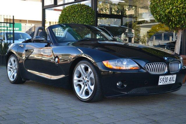 Used BMW Z4 E85 Steptronic, 2003 BMW Z4 E85 Steptronic Black 5 Speed Sports Automatic Roadster