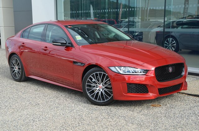 Demo Jaguar XE XE , 2018 Jaguar XE XE Landmark Edition Firenze Red 8 Speed Automatic Sedan