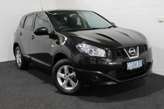 2013 Nissan Dualis J10W Series 4 MY13 ST Hatch X-tronic 2WD Black/Grey 6 Speed Constant Variable.