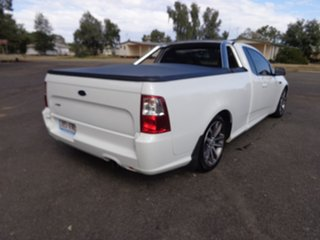 2014 Ford Falcon FG X XR6 Ute Super Cab White 6 Speed Sports Automatic Utility.