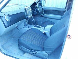 2009 Ford Ranger PK XL Crew Cab White 5 Speed Automatic Utility