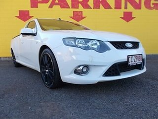 2011 Ford Falcon FG MkII XR6 Super Cab White 6 Speed Sports Automatic Cab Chassis.