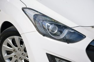 2013 Hyundai i30 GD2 Active White 6 Speed Manual Hatchback