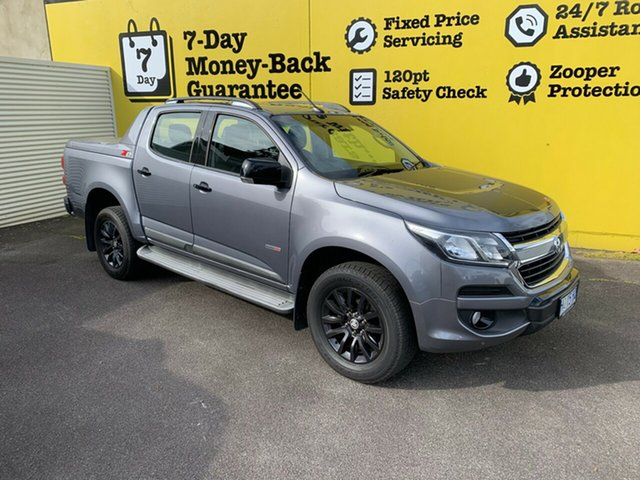 Used Holden Colorado RG MY18 Z71 Pickup Crew Cab, 2018 Holden Colorado RG MY18 Z71 Pickup Crew Cab Satin Steel Grey 6 Speed Sports Automatic Utility