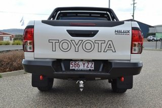 2018 Toyota Hilux GUN126R MY19 Rugged X (4x4) Crystal Pearl 6 Speed Manual Double Cab Pickup