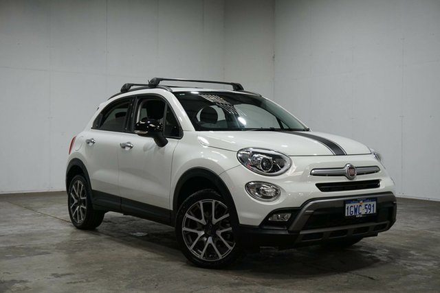 Used Fiat 500X 334 Cross Plus AWD, 2017 Fiat 500X 334 Cross Plus AWD White 9 Speed Sports Automatic Wagon