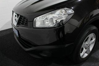 2013 Nissan Dualis J10W Series 4 MY13 ST Hatch X-tronic 2WD Black/Grey 6 Speed Constant Variable