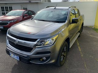 2018 Holden Colorado RG MY18 Z71 Pickup Crew Cab Satin Steel Grey 6 Speed Sports Automatic Utility
