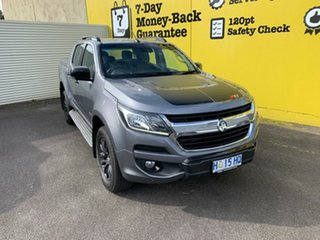 2018 Holden Colorado RG MY18 Z71 Pickup Crew Cab Satin Steel Grey 6 Speed Sports Automatic Utility.