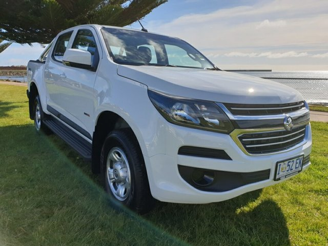 Demo Holden Colorado RG MY19 LS Pickup Crew Cab, 2019 Holden Colorado RG MY19 LS Pickup Crew Cab Summit White 6 Speed Sports Automatic Utility