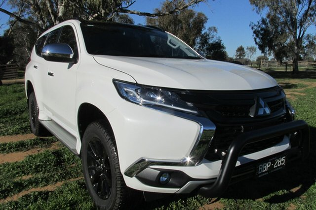 Demo Mitsubishi Pajero Sport QE MY19 Black Edition, 2019 Mitsubishi Pajero Sport QE MY19 Black Edition Starlight 8 Speed Sports Automatic Wagon