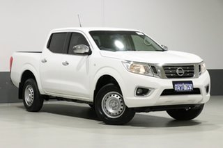 2016 Nissan Navara NP300 D23 RX (4x2) White 7 Speed Automatic Double Cab Utility.