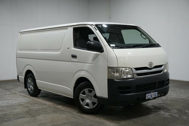 Used Toyota HiAce TRH201R MY08 LWB, 2009 Toyota HiAce TRH201R MY08 LWB White 4 Speed Automatic Van