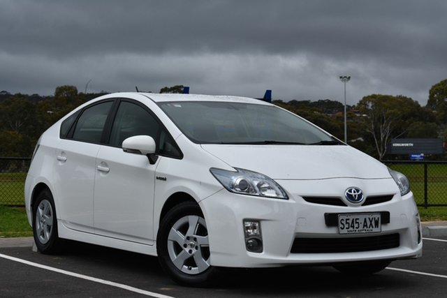 Used Toyota Prius ZVW30R , 2010 Toyota Prius ZVW30R White 1 Speed Constant Variable Liftback Hybrid