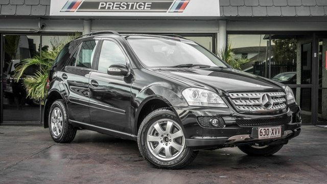 Used Mercedes-Benz ML W164 07 Upgrade 280 CDI (4x4), 2007 Mercedes-Benz ML W164 07 Upgrade 280 CDI (4x4) Black 7 Speed Automatic G-Tronic Wagon