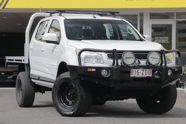 Used Holden Colorado RG MY16 LS Crew Cab, 2015 Holden Colorado RG MY16 LS Crew Cab White 6 Speed Sports Automatic Utility