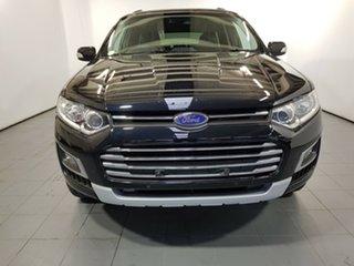 2015 Ford Territory SZ MkII Titanium Seq Sport Shift Black 6 Speed Sports Automatic Wagon.