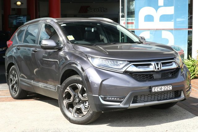 Demo Honda CR-V RW MY19 VTi-LX 4WD, 2019 Honda CR-V RW MY19 VTi-LX 4WD Modern Steel 1 Speed Constant Variable Wagon