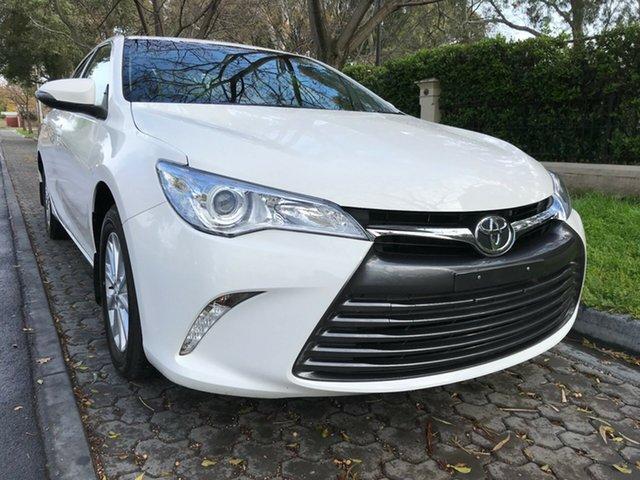 Used Toyota Camry ASV50R Altise, 2016 Toyota Camry ASV50R Altise White 6 Speed Sports Automatic Sedan