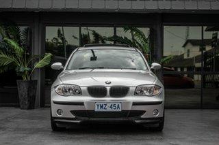 2005 BMW 118i E87 Silver 6 Speed Automatic Hatchback.