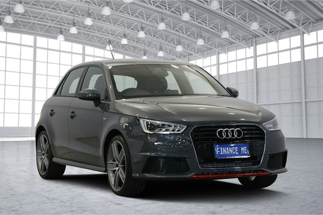 Used Audi A1 8X MY15 S Line Sportback S Tronic, 2015 Audi A1 8X MY15 S Line Sportback S Tronic Grey 7 Speed Sports Automatic Dual Clutch Hatchback