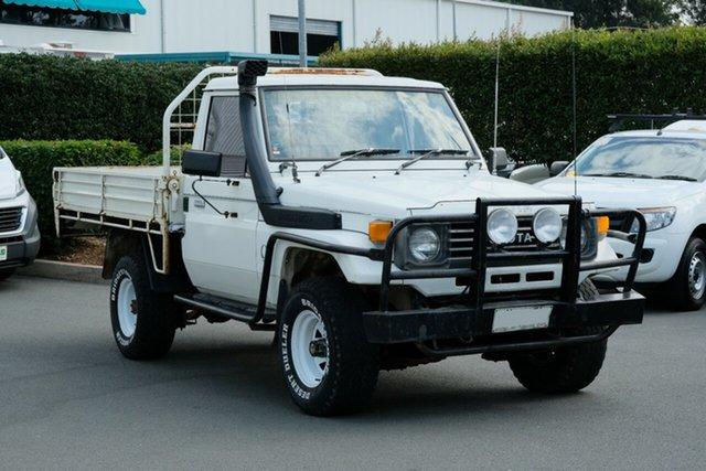 Used Toyota Landcruiser HZJ75RP , 1992 Toyota Landcruiser HZJ75RP White 5 Speed Manual Cab Chassis