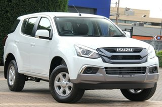 2020 Isuzu MU-X MY19 LS-M Rev-Tronic Splash White 6 Speed Sports Automatic Wagon.