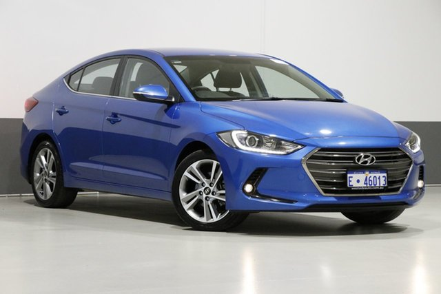 Used Hyundai Elantra AD MY18 Elite 2.0 MPI, 2017 Hyundai Elantra AD MY18 Elite 2.0 MPI Blue 6 Speed Automatic Sedan
