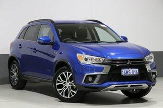 2018 Mitsubishi ASX XC MY18 LS (2WD) Blue Continuous Variable Wagon.
