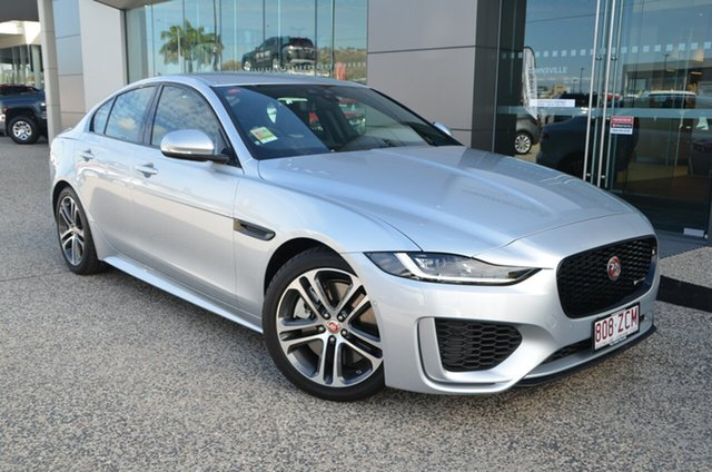 Demo Jaguar XE X760 R-Dynamic SE, 2019 Jaguar XE X760 R-Dynamic SE Indus Silver 8 Speed Automatic Sedan
