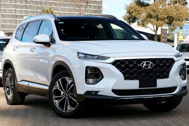 New Hyundai Santa Fe TM.2 MY20 Highlander, 2019 Hyundai Santa Fe TM.2 MY20 Highlander White Cream 8 Speed Sports Automatic Wagon