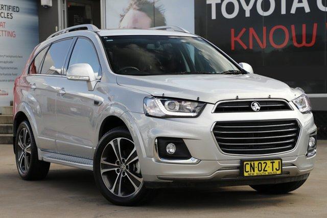 Used Holden Captiva CG MY16 7 LTZ (AWD), 2017 Holden Captiva CG MY16 7 LTZ (AWD) Silver 6 Speed Automatic Wagon