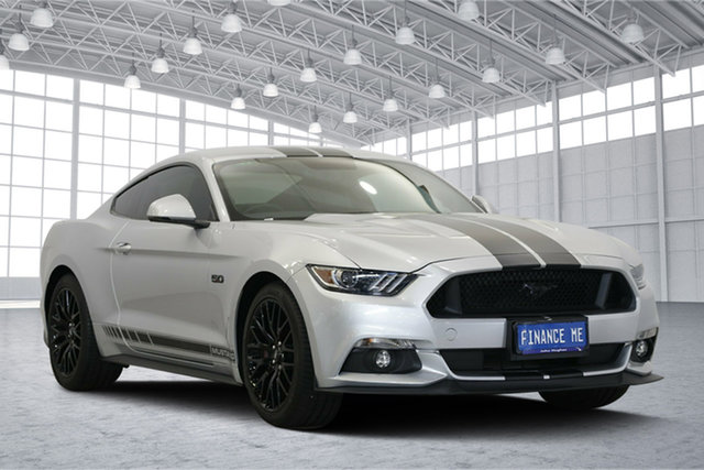 Used Ford Mustang FM 2017MY GT Fastback SelectShift, 2017 Ford Mustang FM 2017MY GT Fastback SelectShift Ingot Silver 6 Speed Sports Automatic Fastback